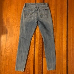 NEW 7 For All Mankind Gwenevere jeans 26 ankle